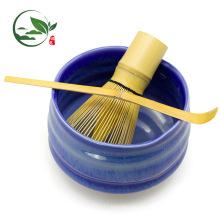 Handgemachte Matcha Schneebesen Chasen Shuhui Gold Bambus