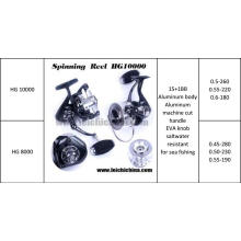 15+1 Bb Aluminous Body Salteater Spinning Fishing Reel