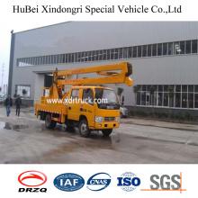 16m Dongfeng Euro4 Aerial Platform Hook Truck