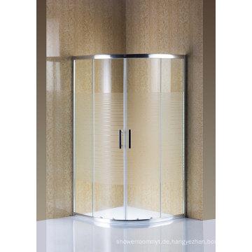 Einfache Duschkabine Glas Duschwand