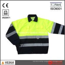 Cotton Protection Reflective Hi Vis Safety Jacket