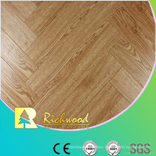 Commercial 8.3mm Embossed Hickory Waxed Edged Laminated Flooring