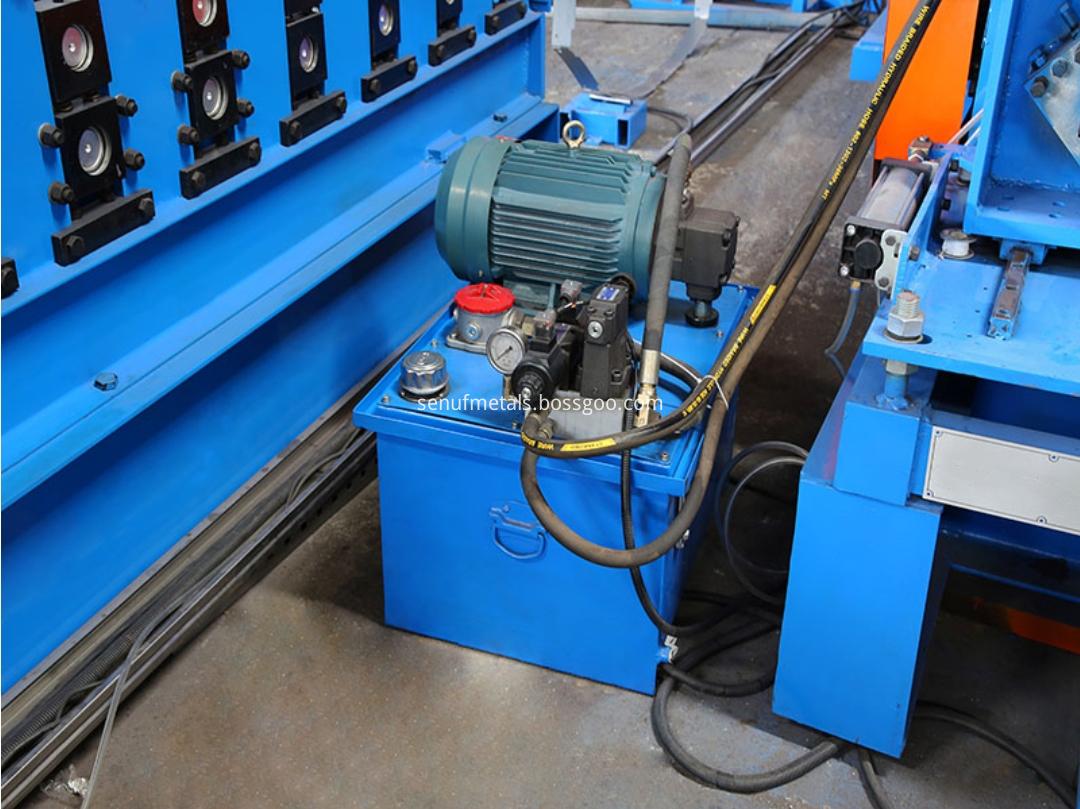 storage rack hydraulic station