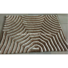 Polyester Modern Shaggy Carpets with 3D Effects