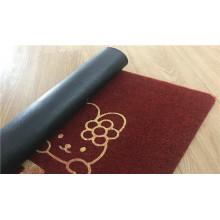 Tapetes de porta de bordar tapetes bordados chão