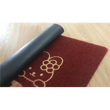 Embroidery door mats floor embroidered mats