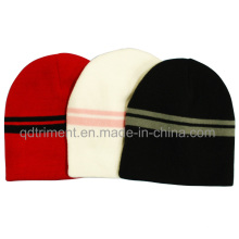 Popular Simple Acrylic Warm Sport Ski Beanie (TMK8266-1)