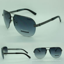 lunettes de soleil à monture ronde pour hommes (03270 c2-639)