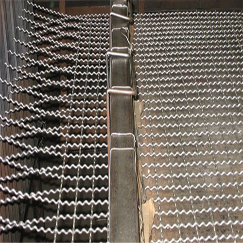 acier inoxydable Pre-crimped Wire Mesh