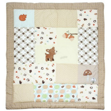 Baby Quilt Design with Cute Deer Lovely for Unisex Baby