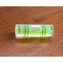 Cylinder spirit level bubble vials