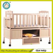 Novo en1888 design de luxo de viagem do sistema bebê cama de beliche de madeira peças