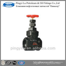 China supplier cast iron thread gate valve Z15T-16