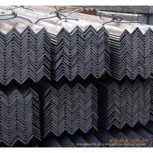 Barra de ángulo de hierro galvanizado laminado en caliente de acero al carbono para materiales de construcción