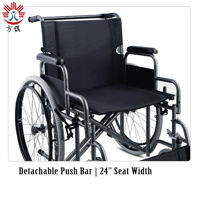 Steel Wheelchair Bariatric