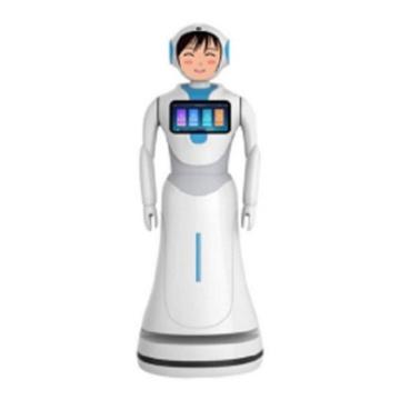Ai Autonomer Programmierbarer Roboter Kommerzieller Serviceroboter