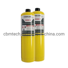 ISO/DOT Standard Mapp Propane Gas Cylinders for Sale