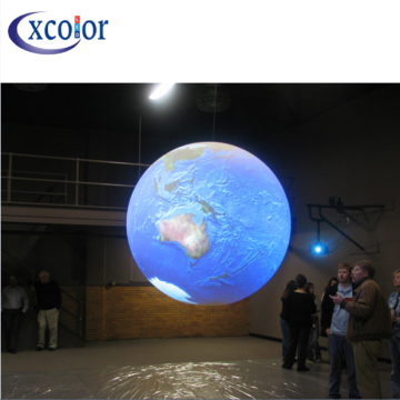 Custom Ceiling Scrolling Sphere LED Video ball