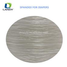 O melhor Spandex desencapado do fio do Spandex do tecido do bebê do preço para o fio do Spandex do poliéster do tecido
