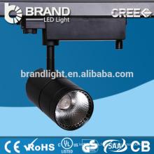 Ventas Directamente CE ROHS Aluminio Ip44 30w COB LED Track Light