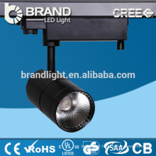 Vente directe CE ROHS Aluminium Ip44 30w COB LED Track Light