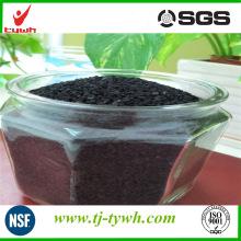 Carbón activado a base de carbón granular utilizado en productos químicos de la industria
