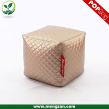 high quality cool leather ottoman, hot sale beanbag zhejiang
