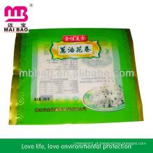 Gravure degradável impressão saco de embalagem de alimentos congelados