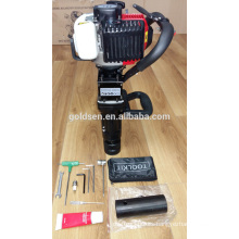 69mm 900w 32.7cc Small Gasoline Jack Hammer Mini Petrol Hammer Piling Driver GW8195