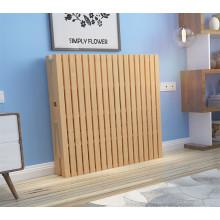 Importe la sola cama plegable portátil barata del metal del pino sólido del marco metálico plegable encima de la cama plegable