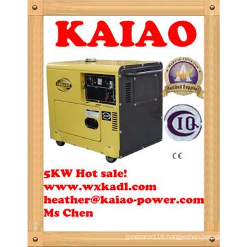 Hot Sale! Vlais Kde6500t 5kw Super Silent Diesel Generator