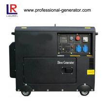 Silent Diesel Generator 5.5kw Elektrisch / Recoil Start