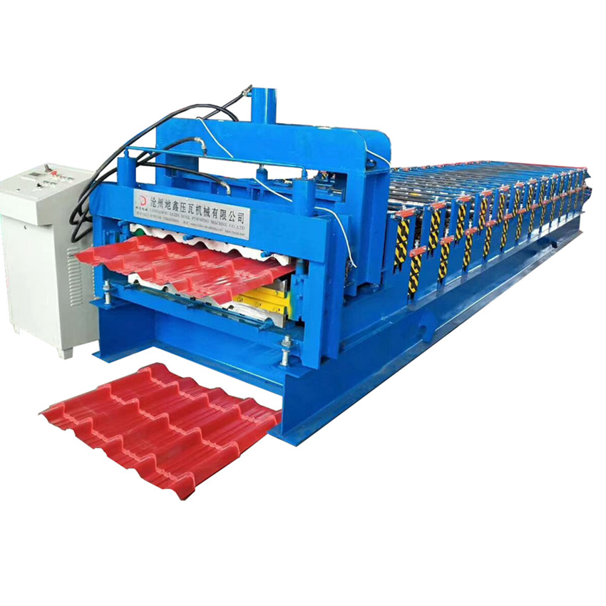 DX Double Layer Profile Roof Tile Machine