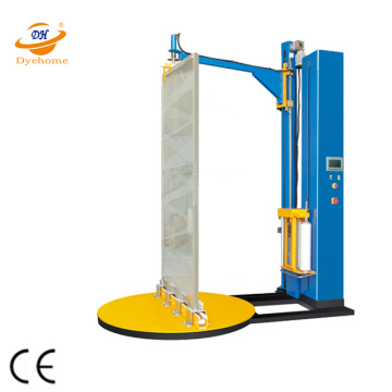 Machine d'emballage extensible de fenêtre de porte en bois