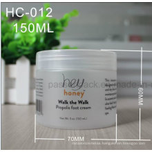150ml Pet Plastic Jar for Cosmetic Cream (frosted surface)
