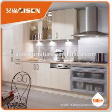 Mesa de melamina mobiliário de cozinha