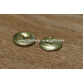 china factory supply garment accessory plain metal button