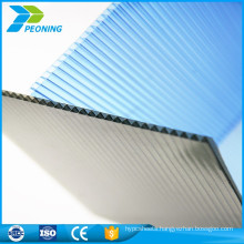 Chinese factory poly carbonate hard plastic transparent soundproof roofing sheets