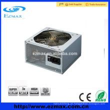 Dongguan fabrica uma placa de alimentação para PC com 500W de venda a quente para ATX V2.3 com ventilador silencioso de 12cm