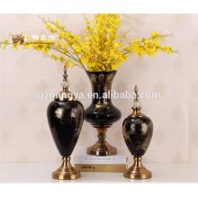 Beliebte Porzellan Großhandel antiken religiösen großen Blumen Dekoration Glas Ornament