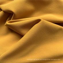 Tela de la capa de Spandex del poliéster de Escuba del color puro al por mayor