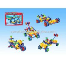 Puzzle carro de corrida catena bloco brinquedo