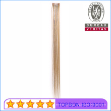 Synthetic Material Hair with Colorful Silks Colordful Hair Clip in Hair Extension