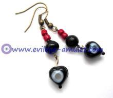 Evil Eye Dangle Earrings Wholesale