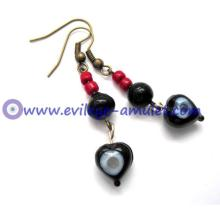 Evil Eye Dangle Earrings Wholesale
