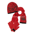 3pk Hat Scarf and Gloves