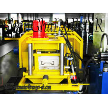 Sigma post, guardrail post driver roll forming machine