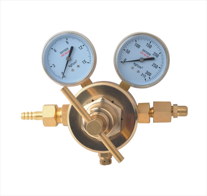 Single Stage Big Flow Oxygen Gas Regulator