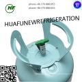 Buen precio del gas refrigerante de alta calidad R134a hfc-R134a Puerto de cilindro irrecuperable de HUAFU en el mercado de Indonesia