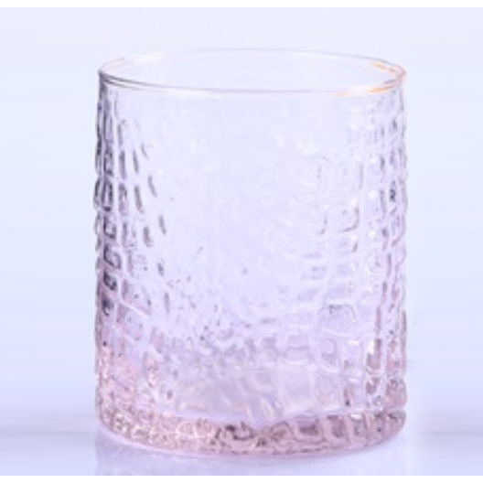 man Blown Hammered Cup